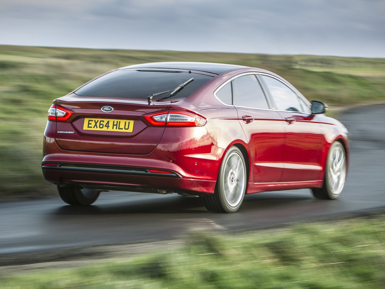 Trasera Ford Mondeo