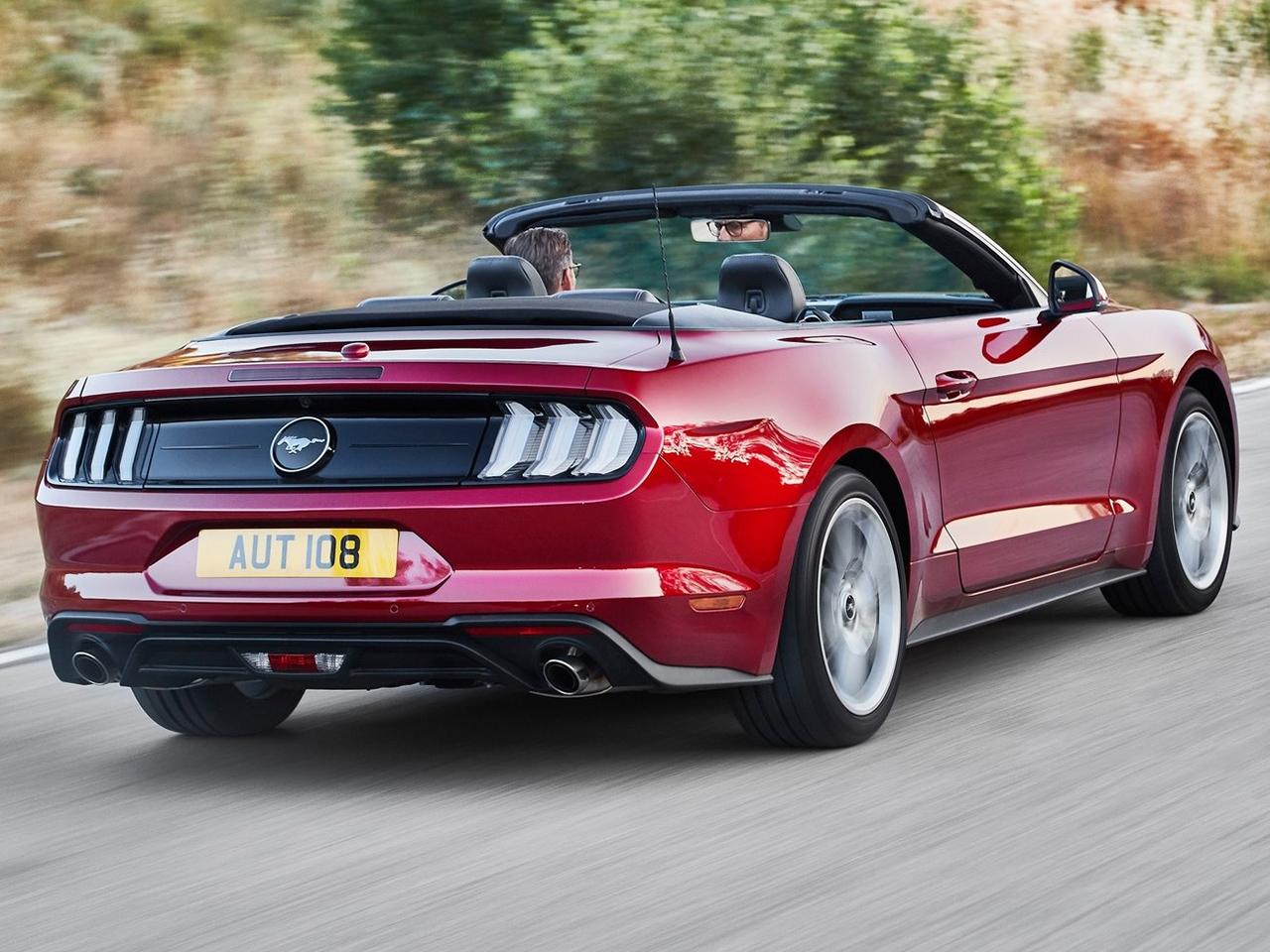 Trasera Ford Mustang Convertible