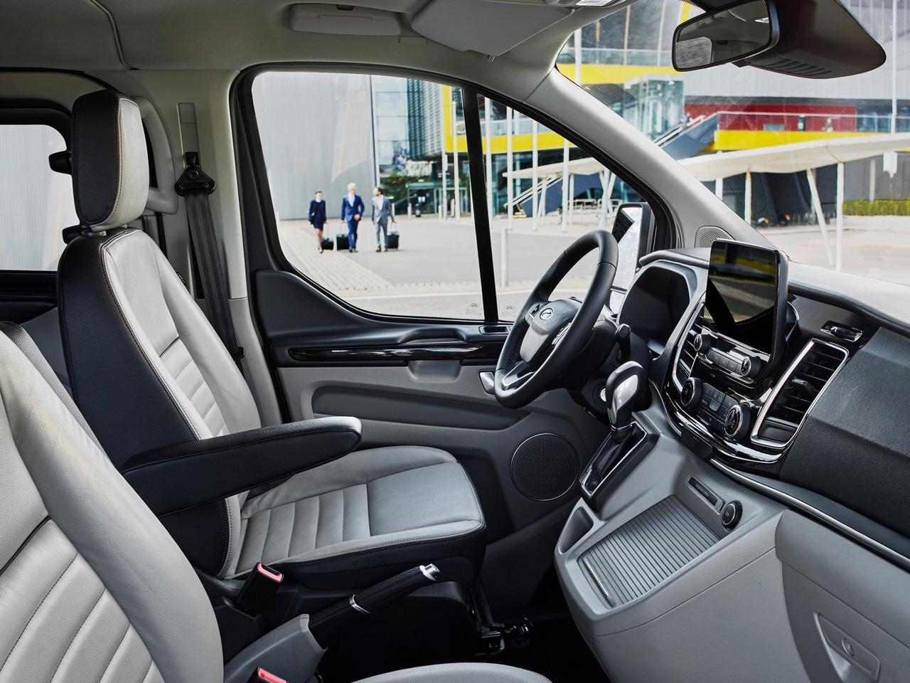 Interior Ford Tourneo Custom