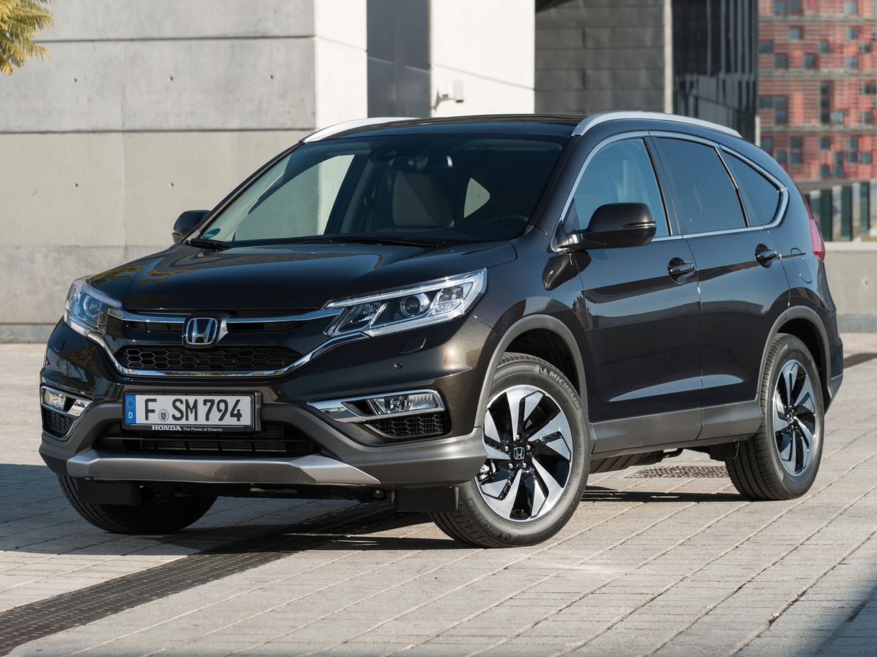 Frontal Honda CR-V