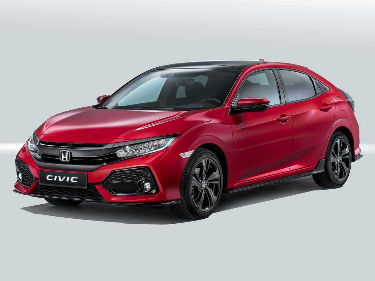 Frontal Honda Civic