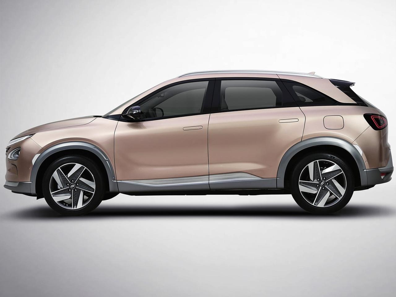 Hyundai Nexo lateral