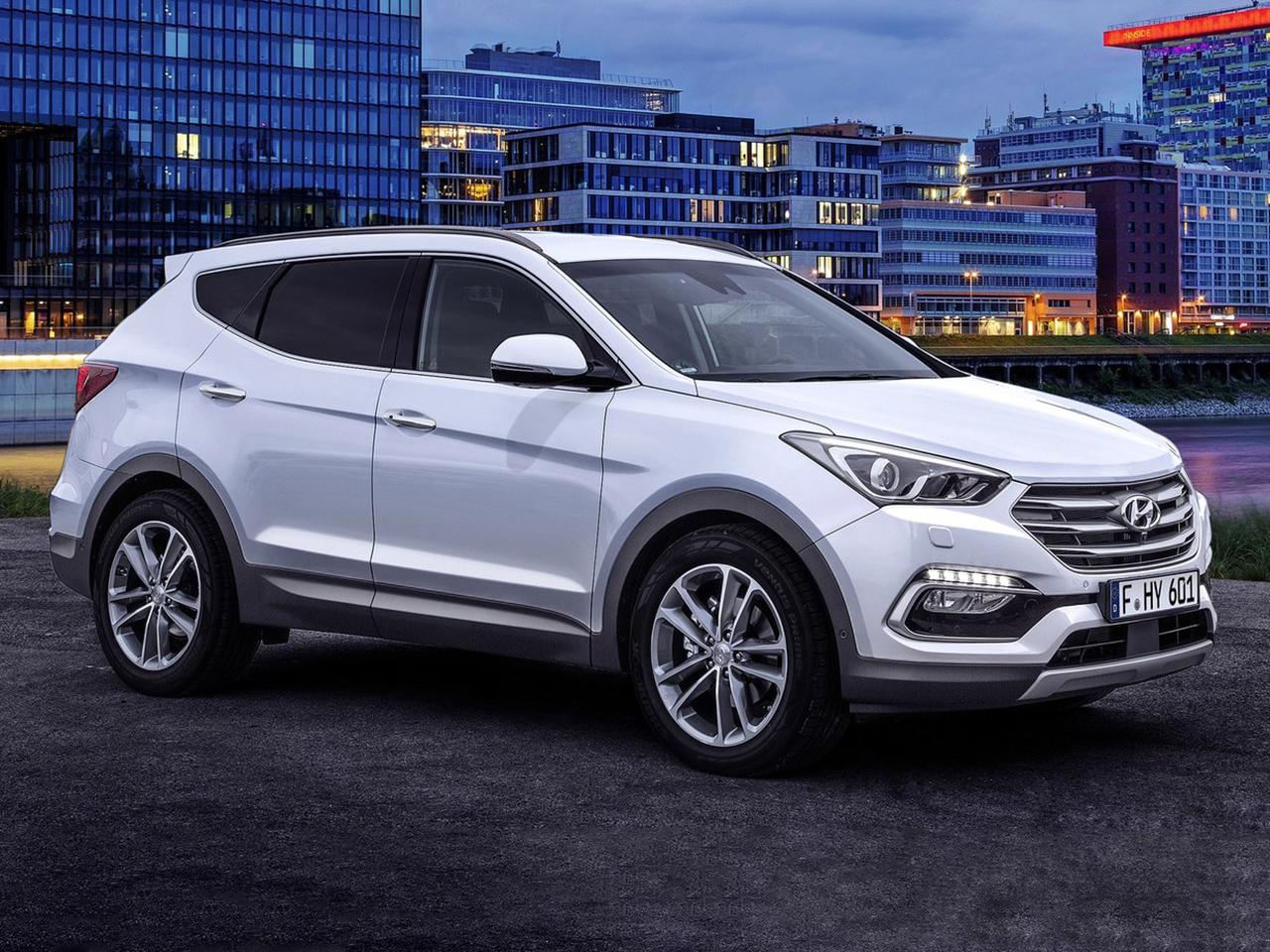 Frontal Hyundai Santa Fe