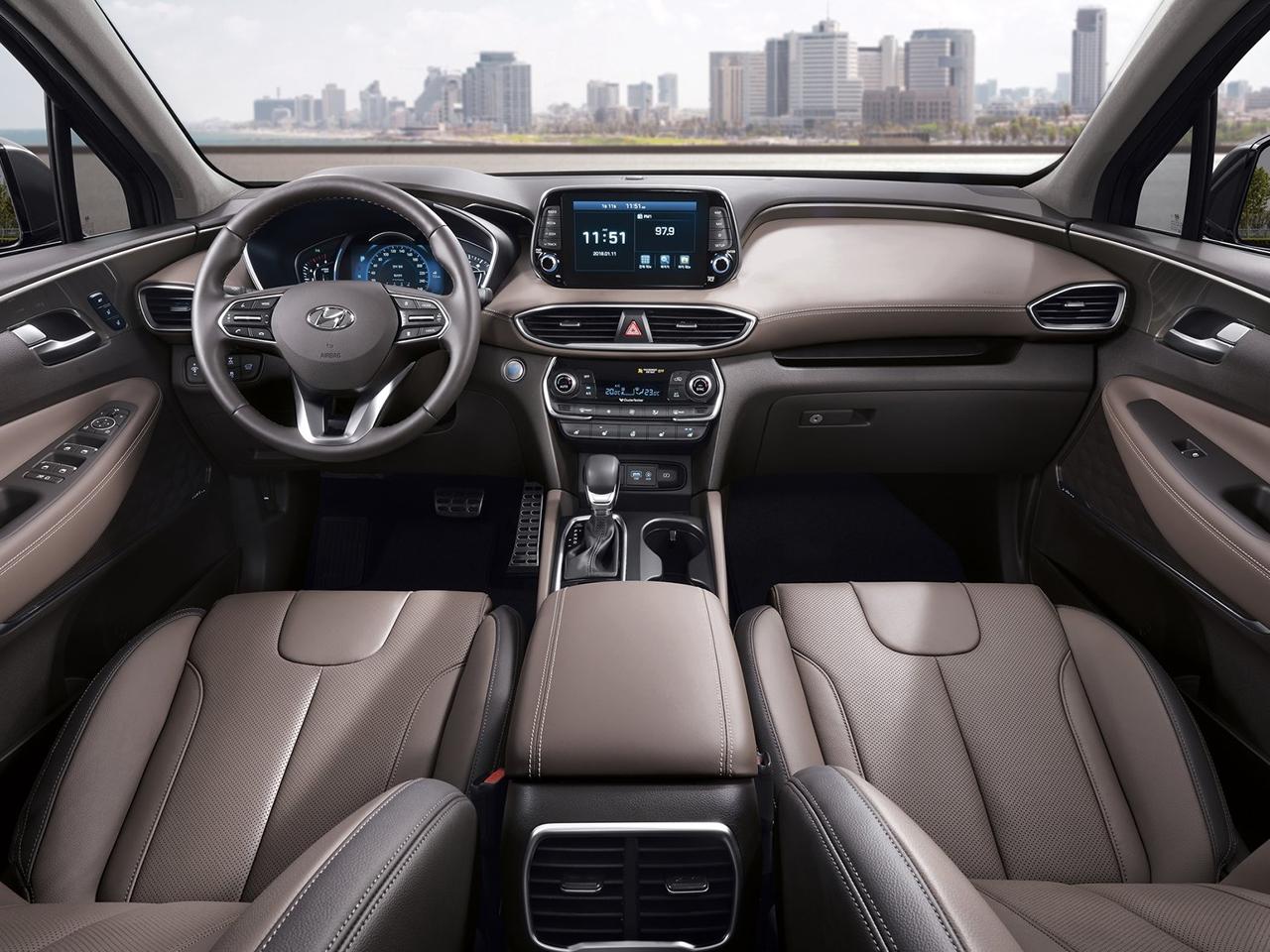 Interior Hyundai Santa Fe