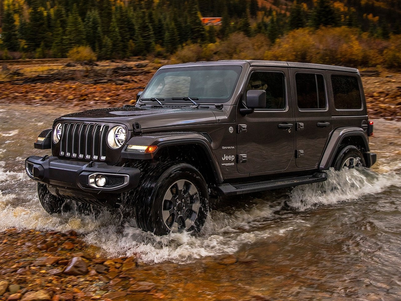Frontal Jeep Wrangler Unlimited
