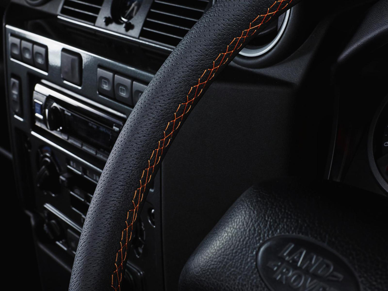 Interior Land Rover Defender 110