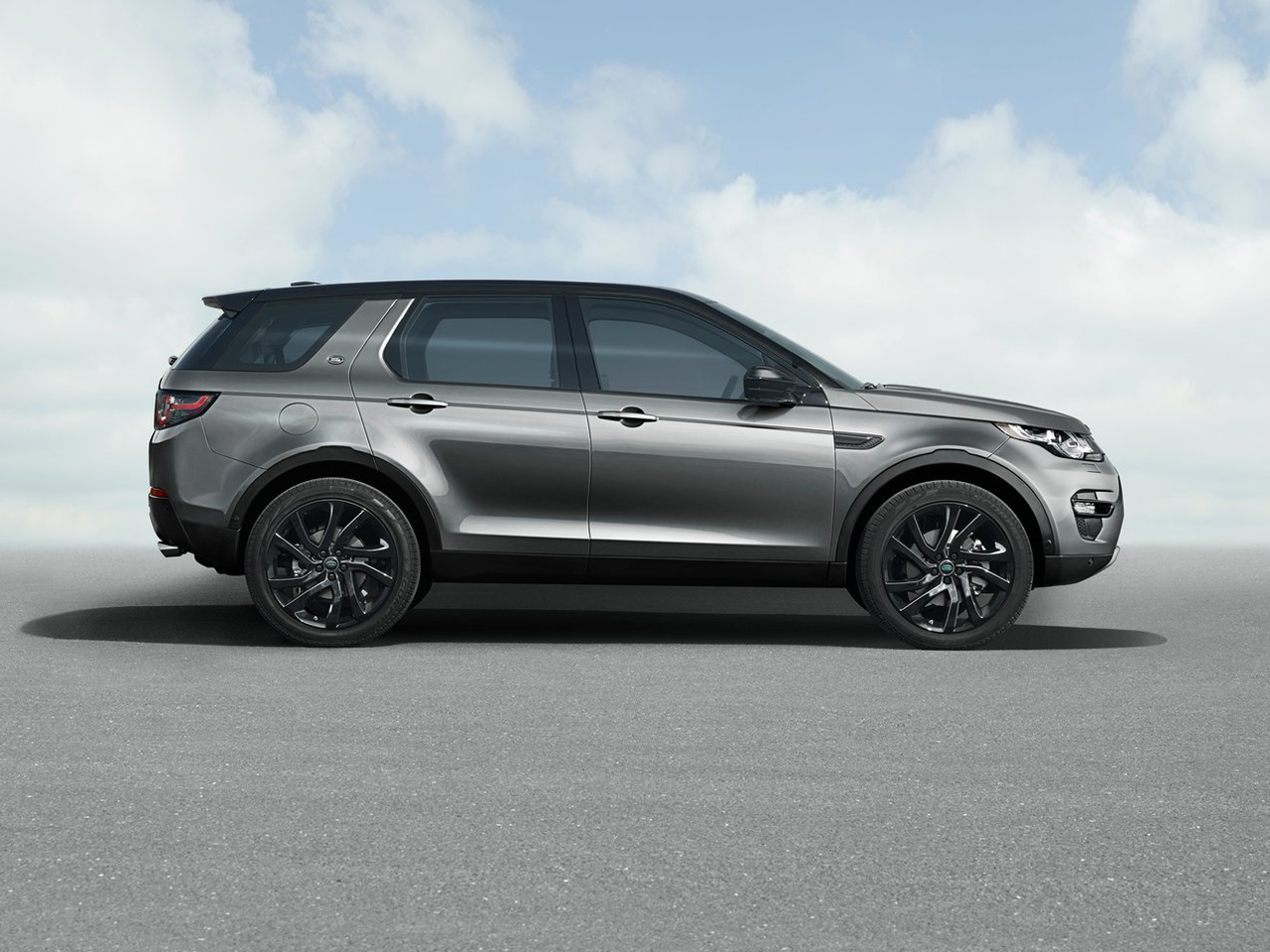 vista lateral land rover discovery sport