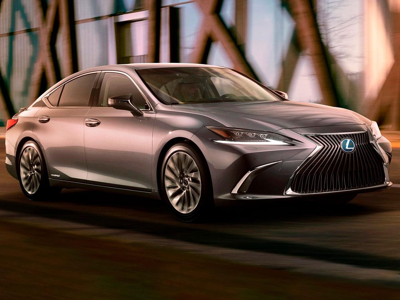Frontal Lexus ES