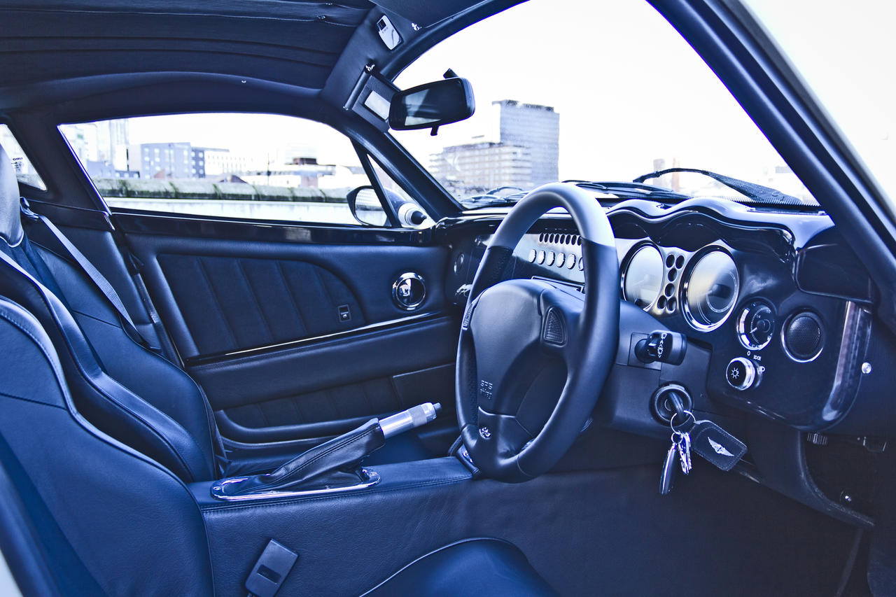 vista interior morgan aero coupe