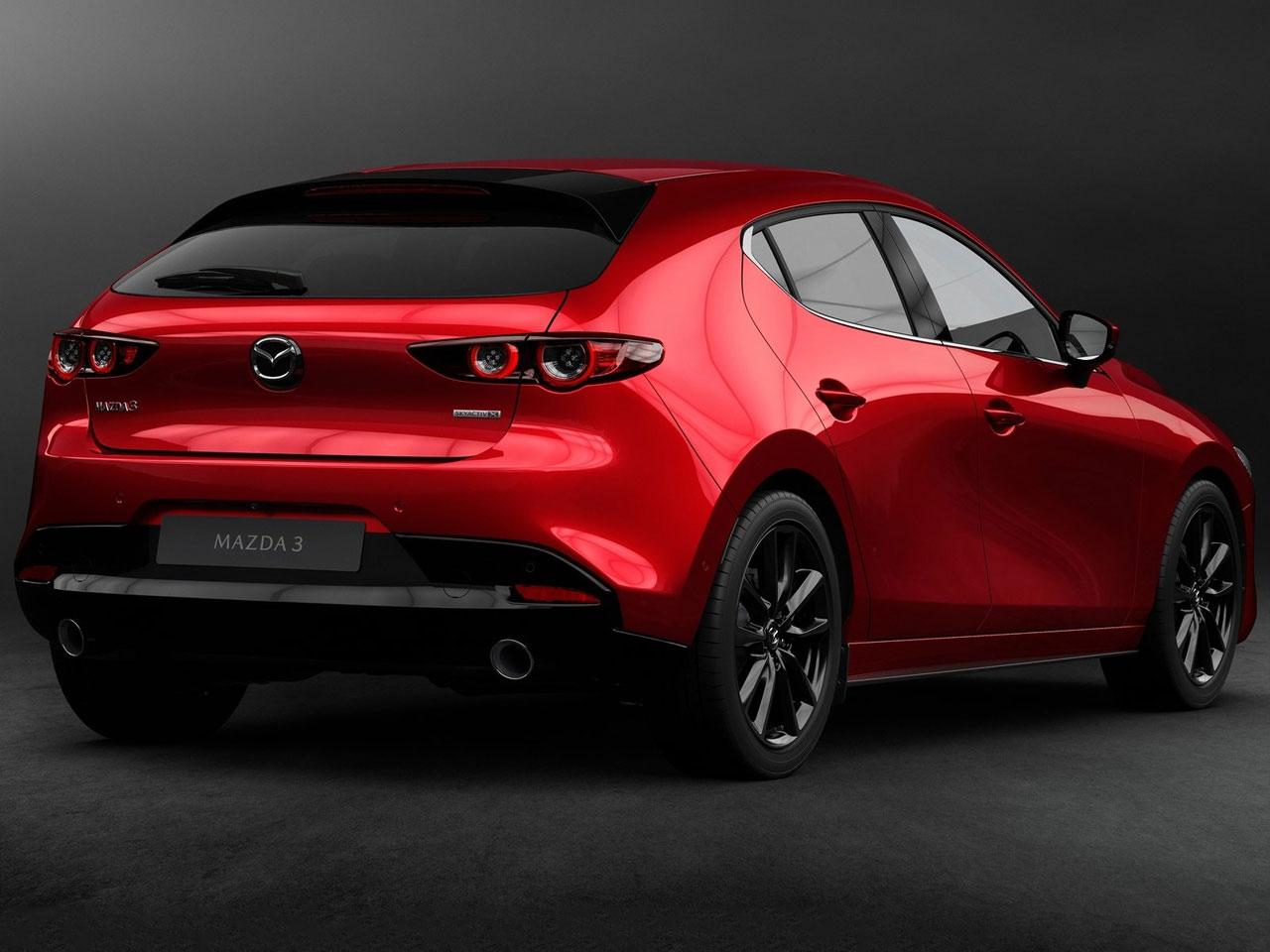 Trasera Mazda3