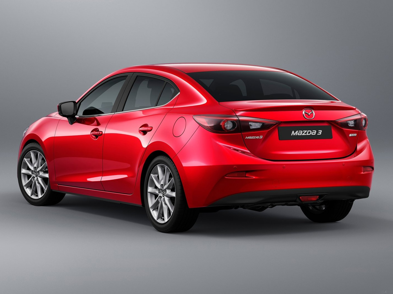 Trasera Mazda3 SportSedan