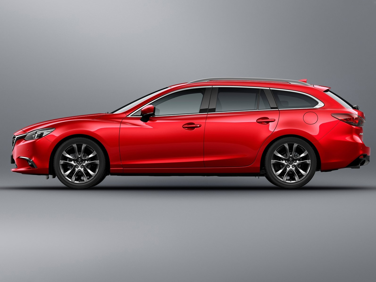 Lateral Mazda6 Wagon