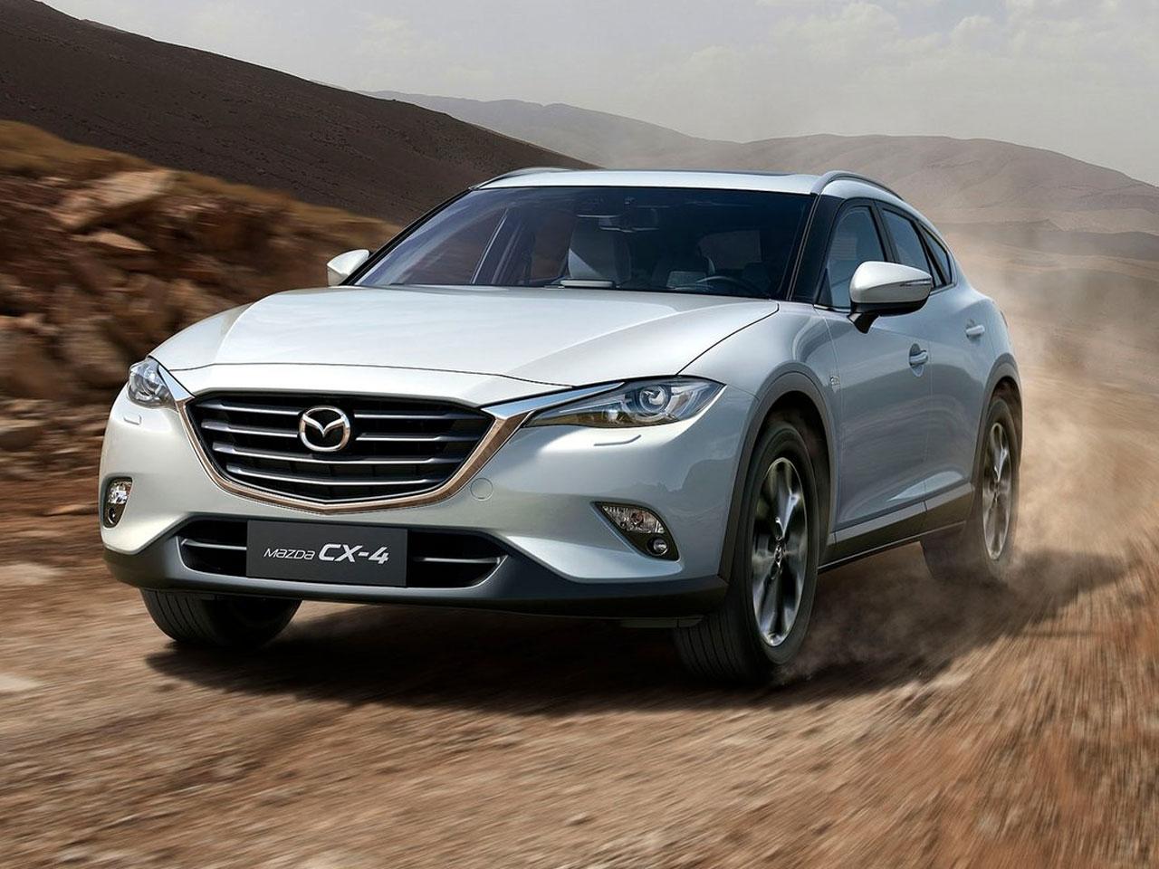 Frontal Mazda CX-4