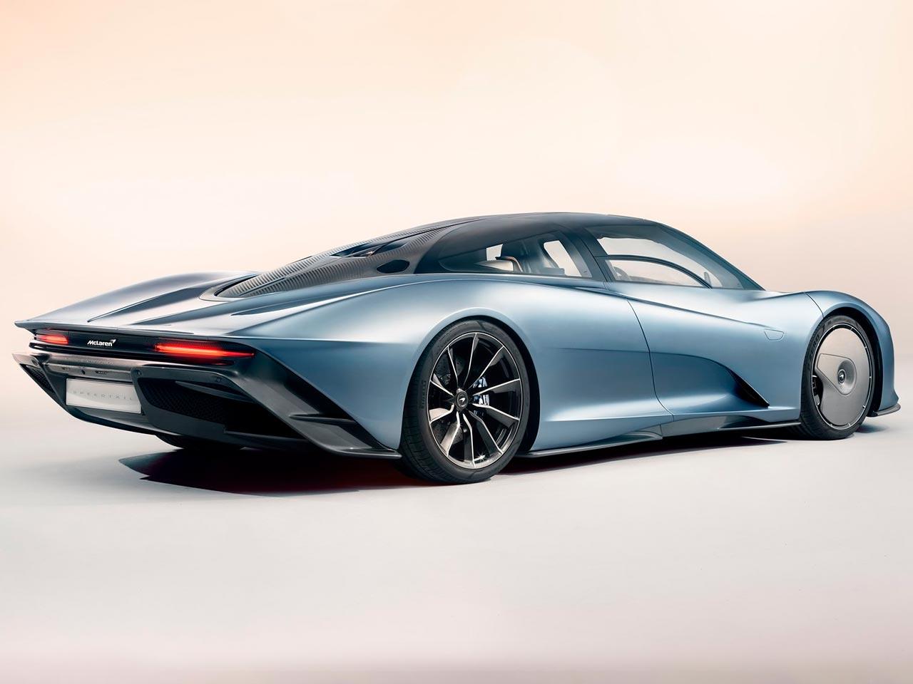 Trasera McLaren Speedtail