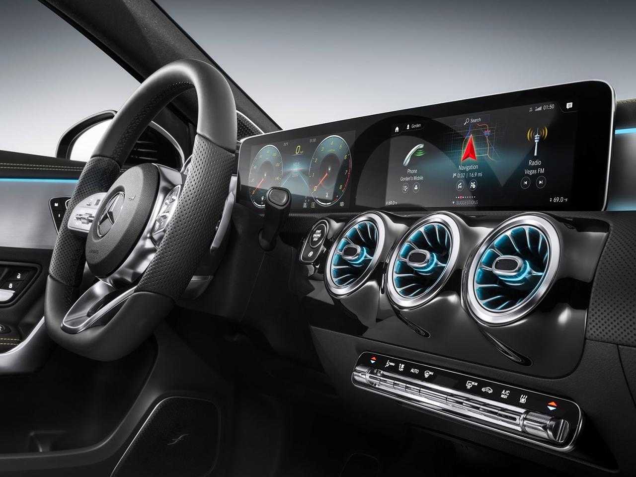 Interior Mercedes Clase A
