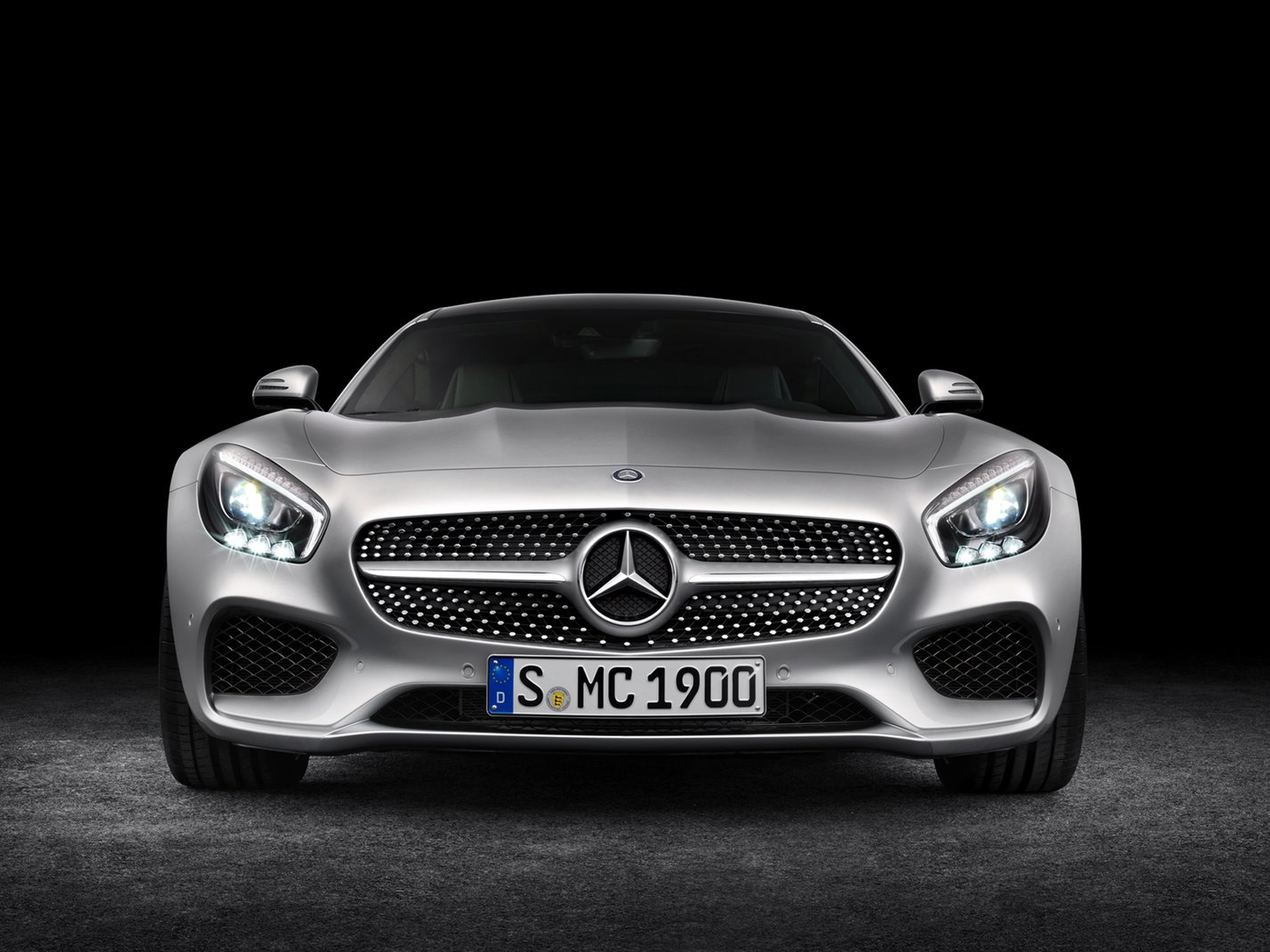 Frontal Mercedes-AMG GT
