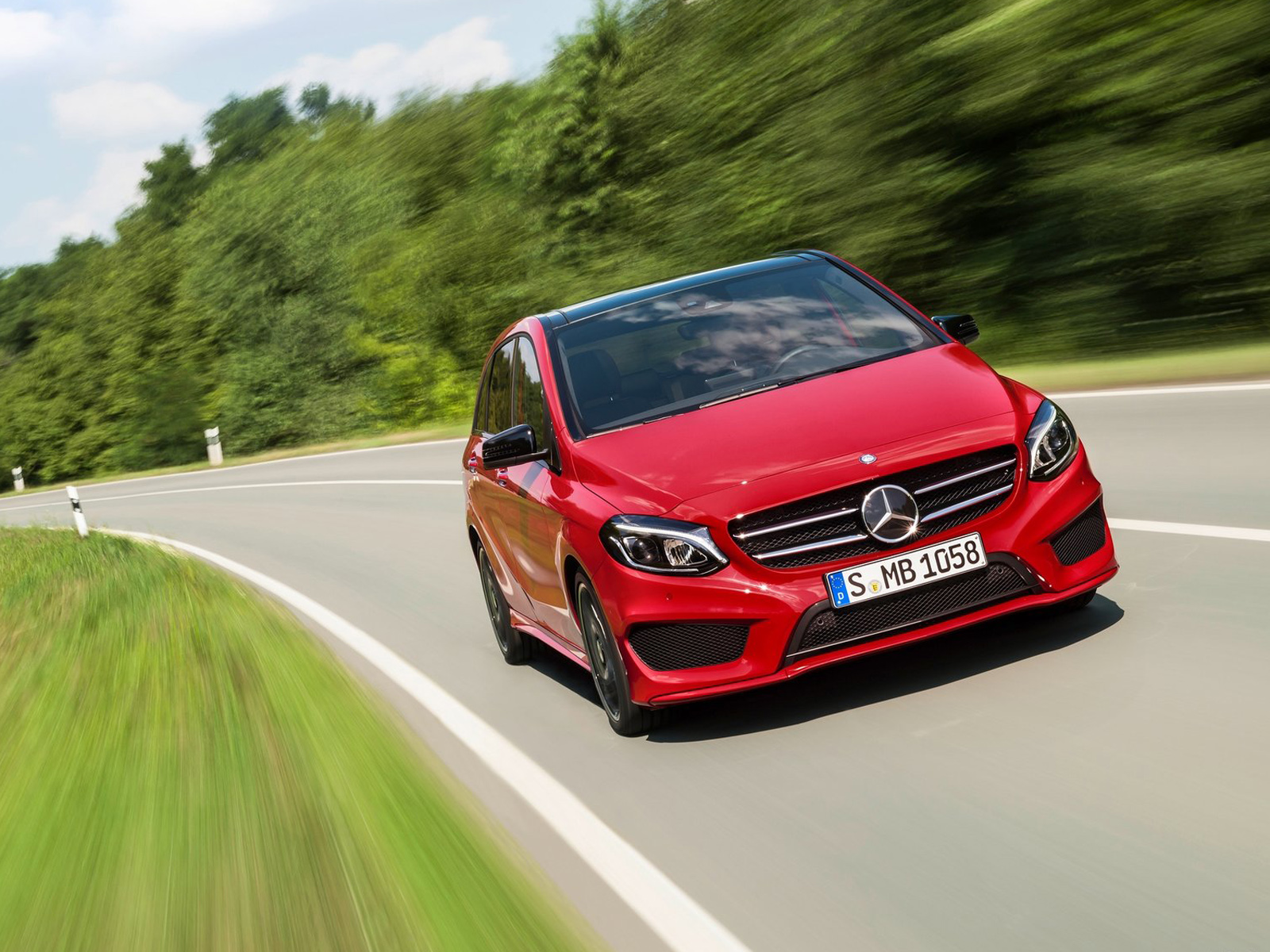 Frontal Mercedes Clase B