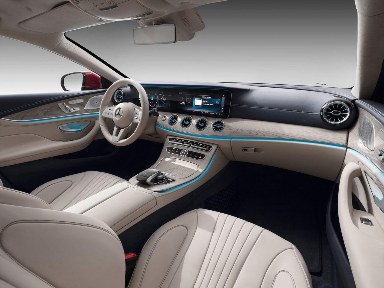 Interior Mercedes CLS