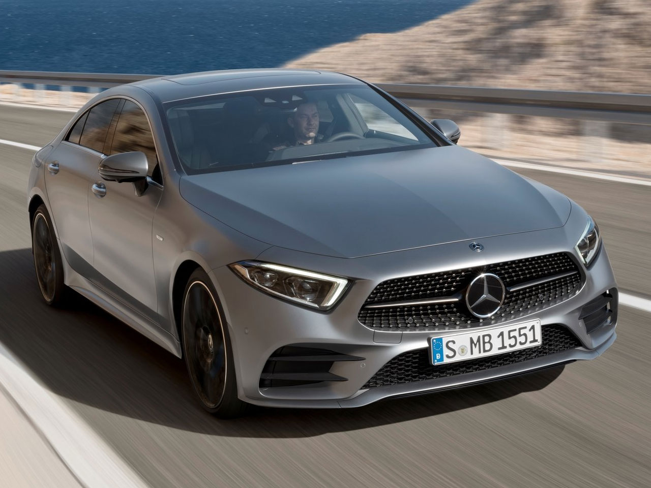 Frontal Mercedes CLS