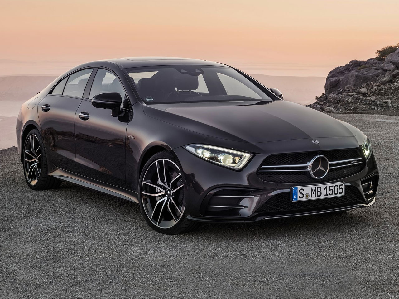 Frontal Mercedes CLS AMG