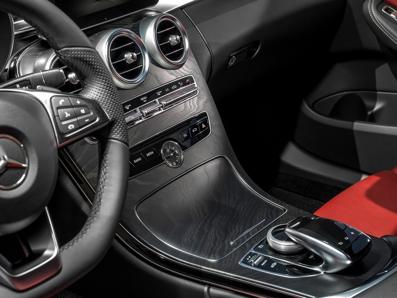 Interior Mercedes Clase C Berlina