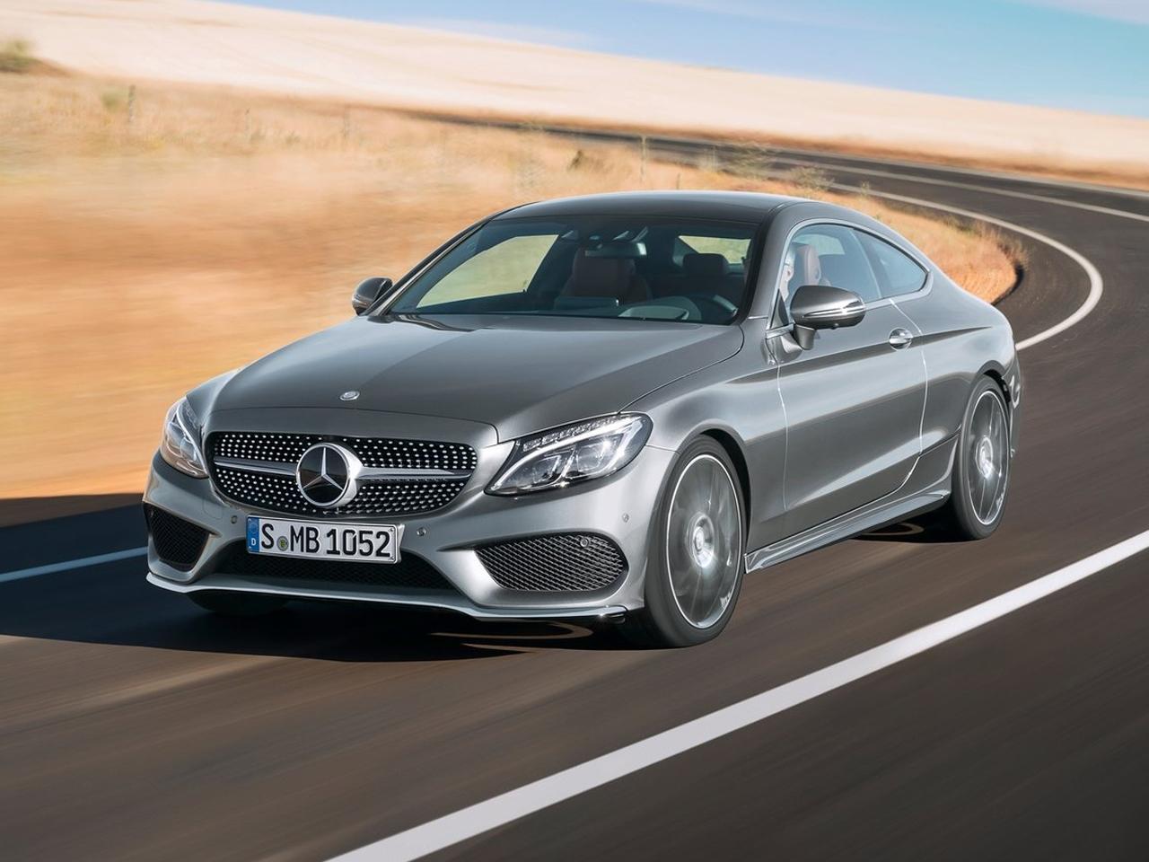 Frontal Mercedes Clase C Coupé