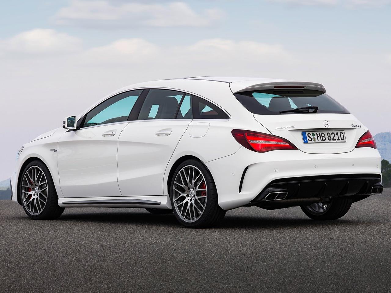 Mercedes Clase CLA MK1 LCI vista externa