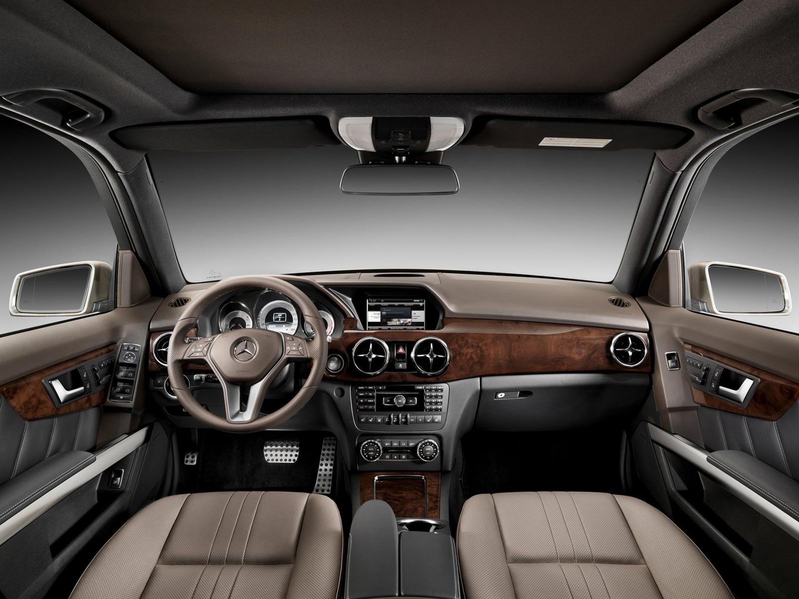Interior Mercedes GLK