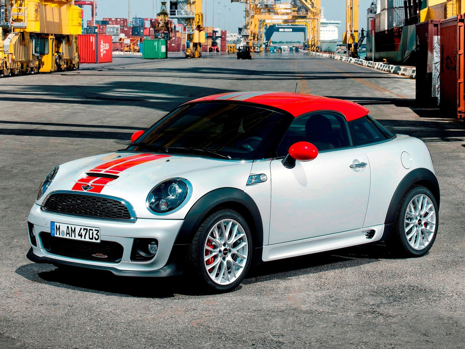 vista frontal mini coupe john cooper works
