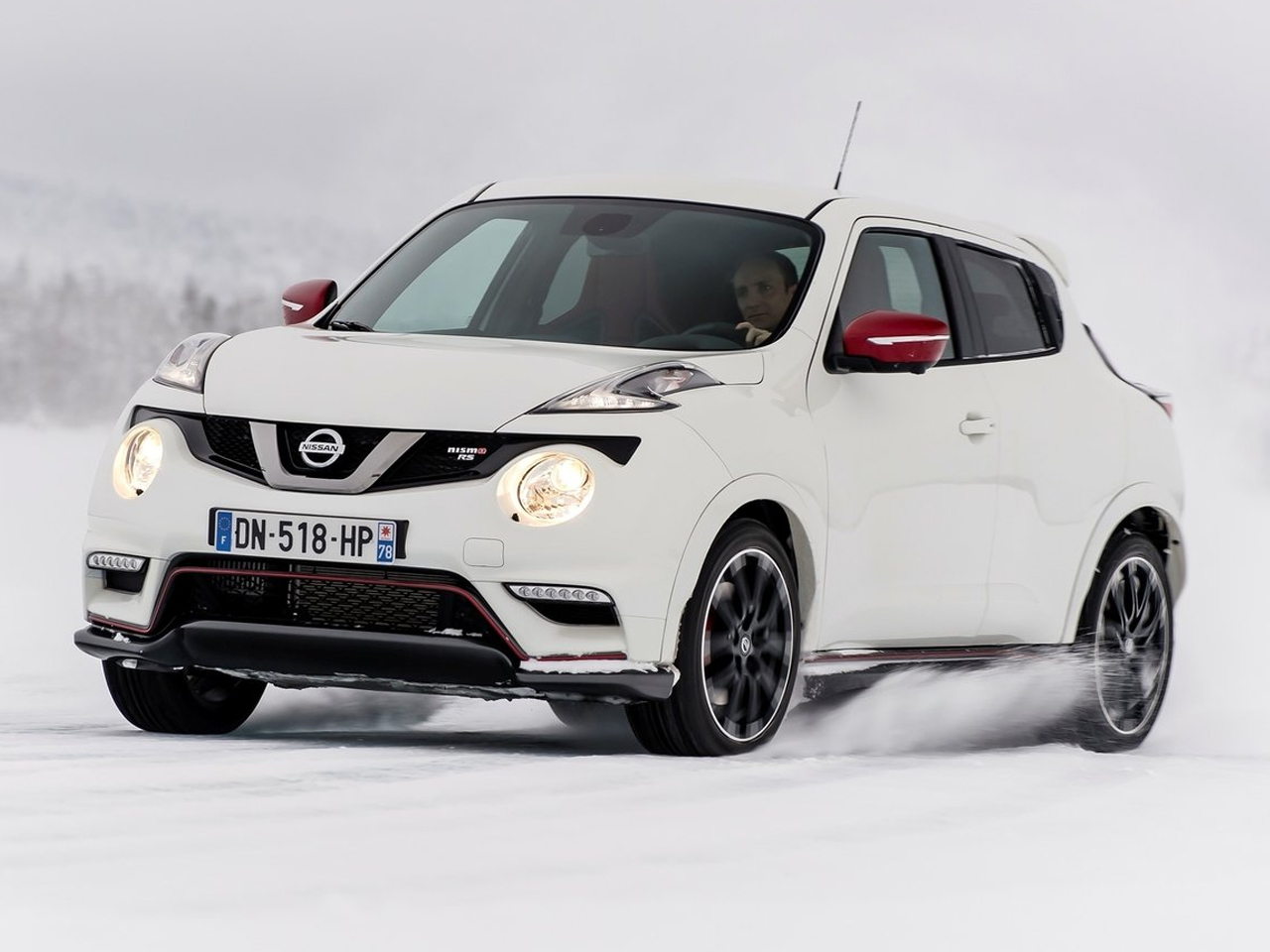 Frontal Nissan Juke Nismo RS