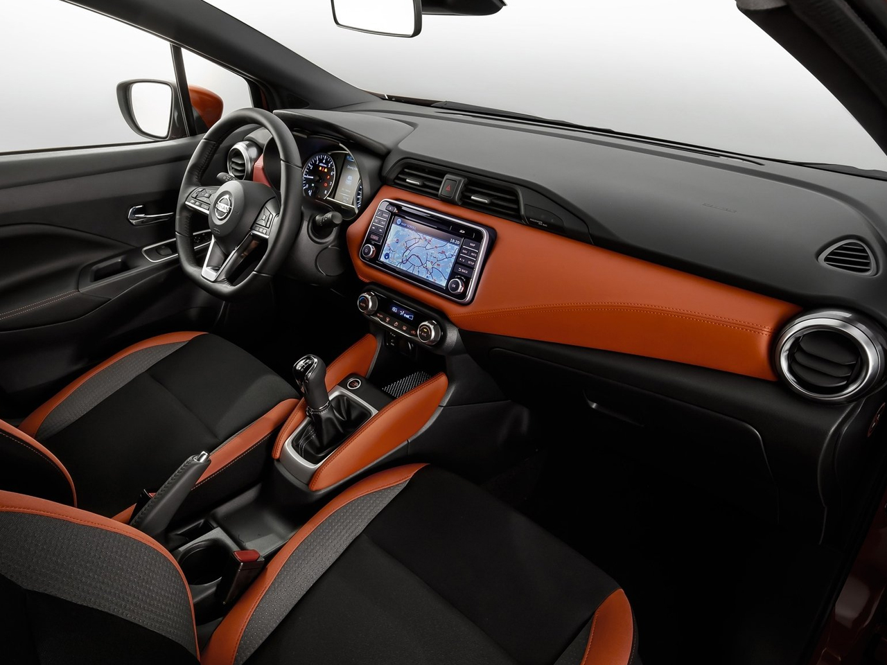 Interior Nissan Micra