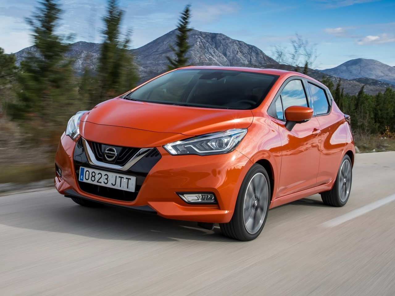 Frontal Nissan Micra