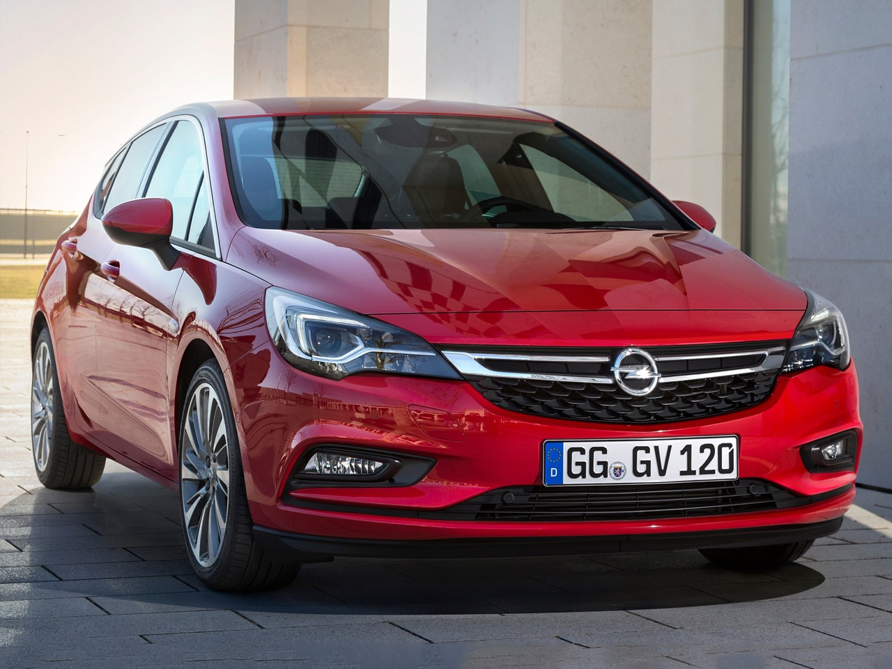 Frontal Opel Astra