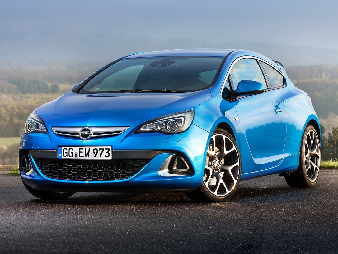 Frontal Opel Astra OPC