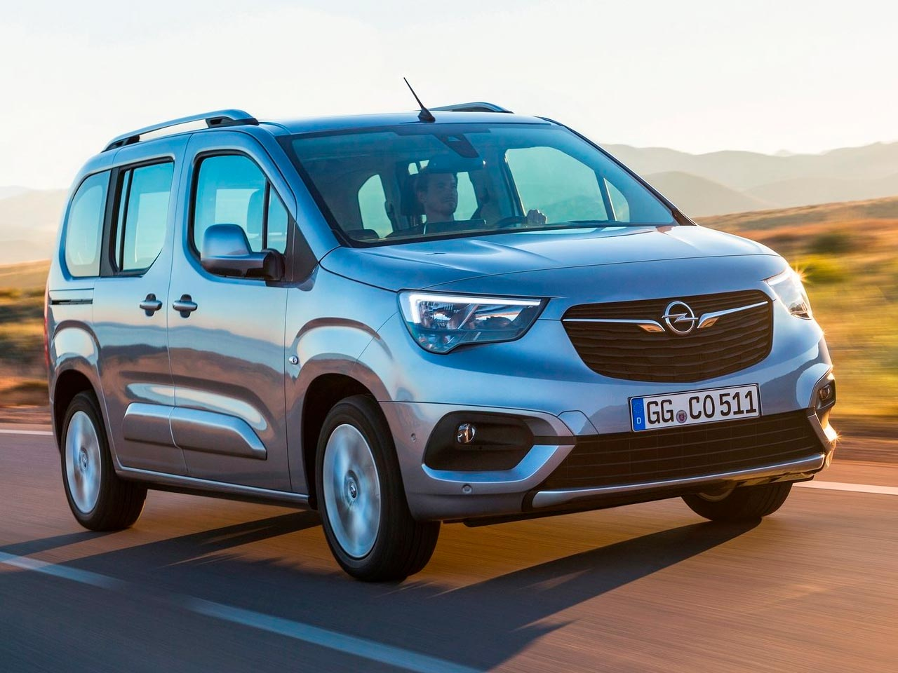 Frontal Opel Combo