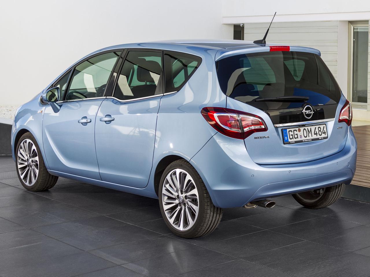 Trasera Opel Meriva