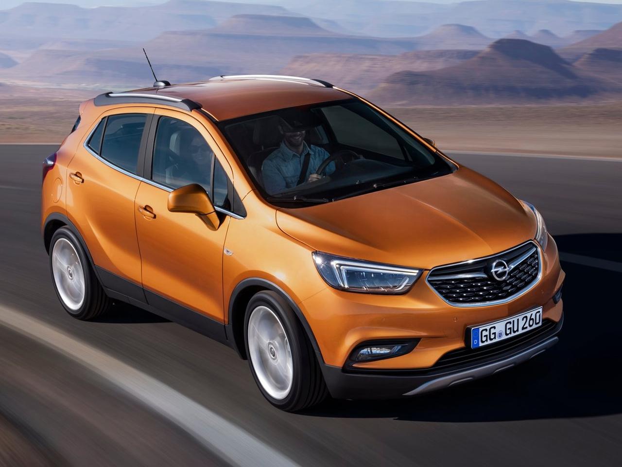 Opel Mokka X por fuera