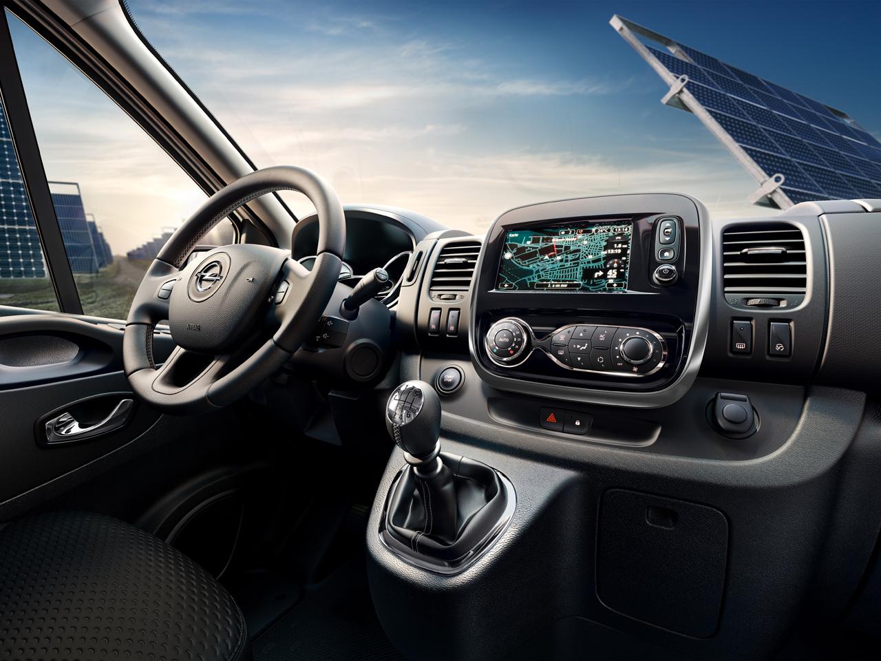 Interior Opel Vivaro