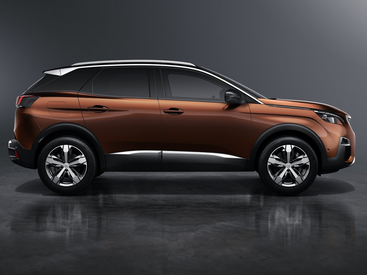Lateral Peugeot 3008