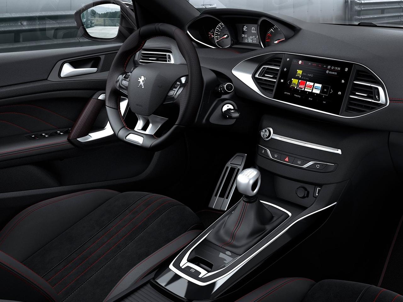 Interior Peugeot 308