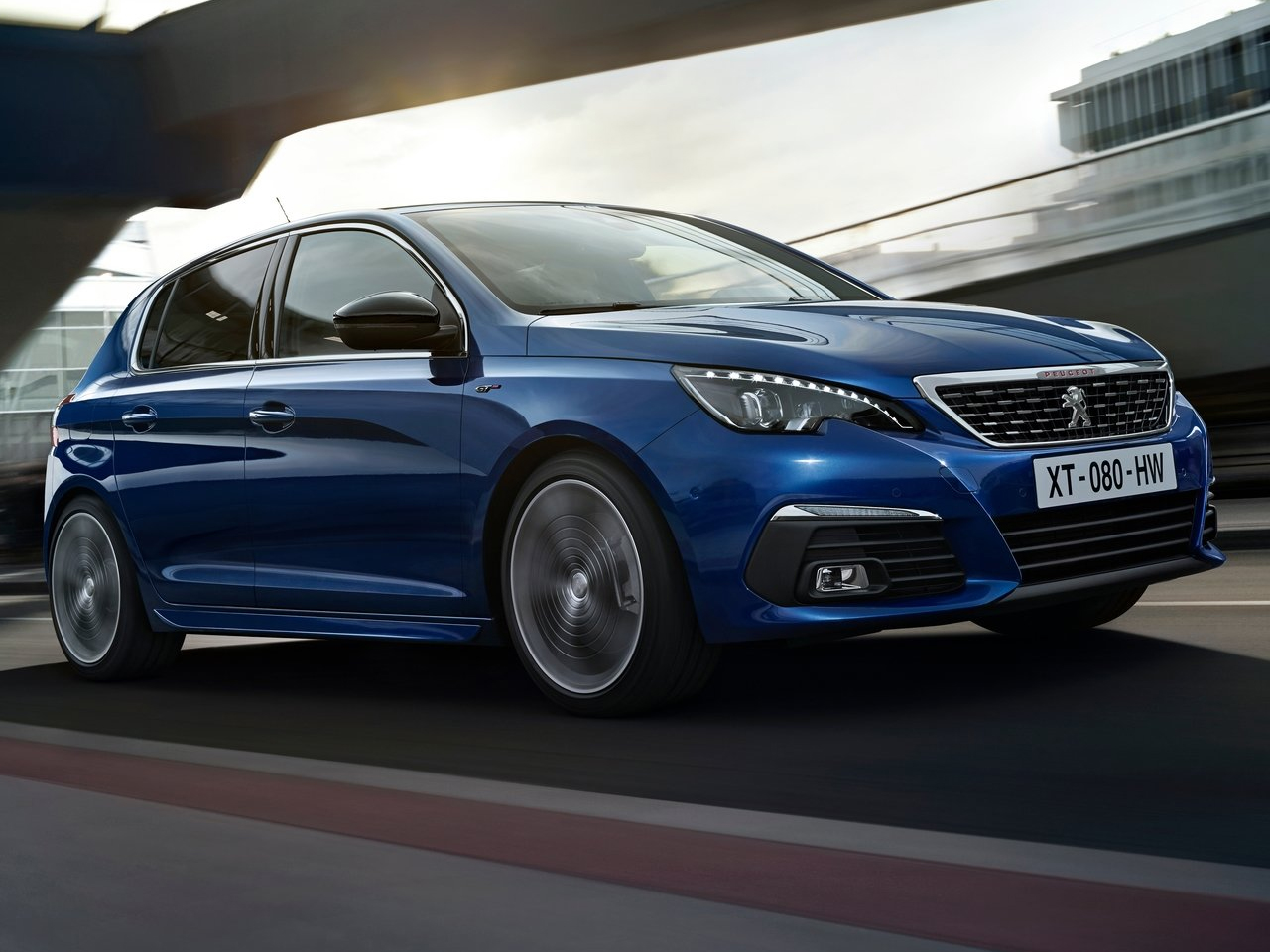 Frontal Peugeot 308