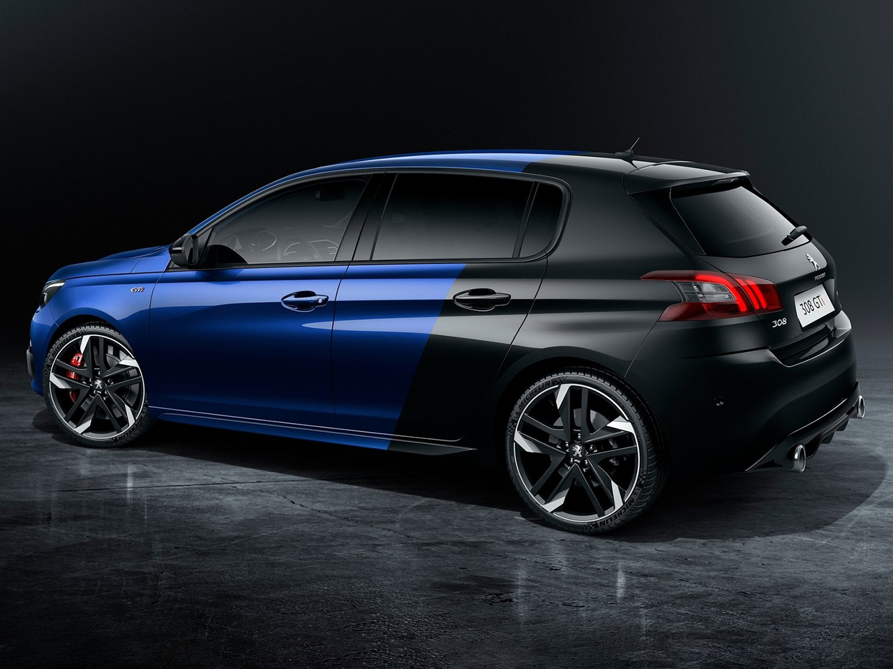Lateral Peugeot 308 GTI