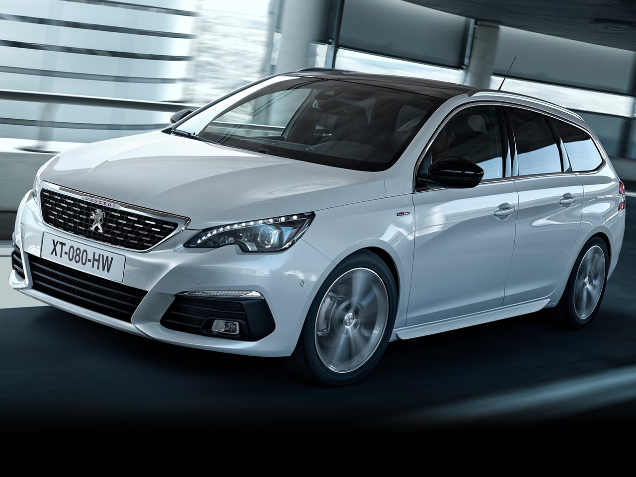 Frontal Peugeot 308 SW