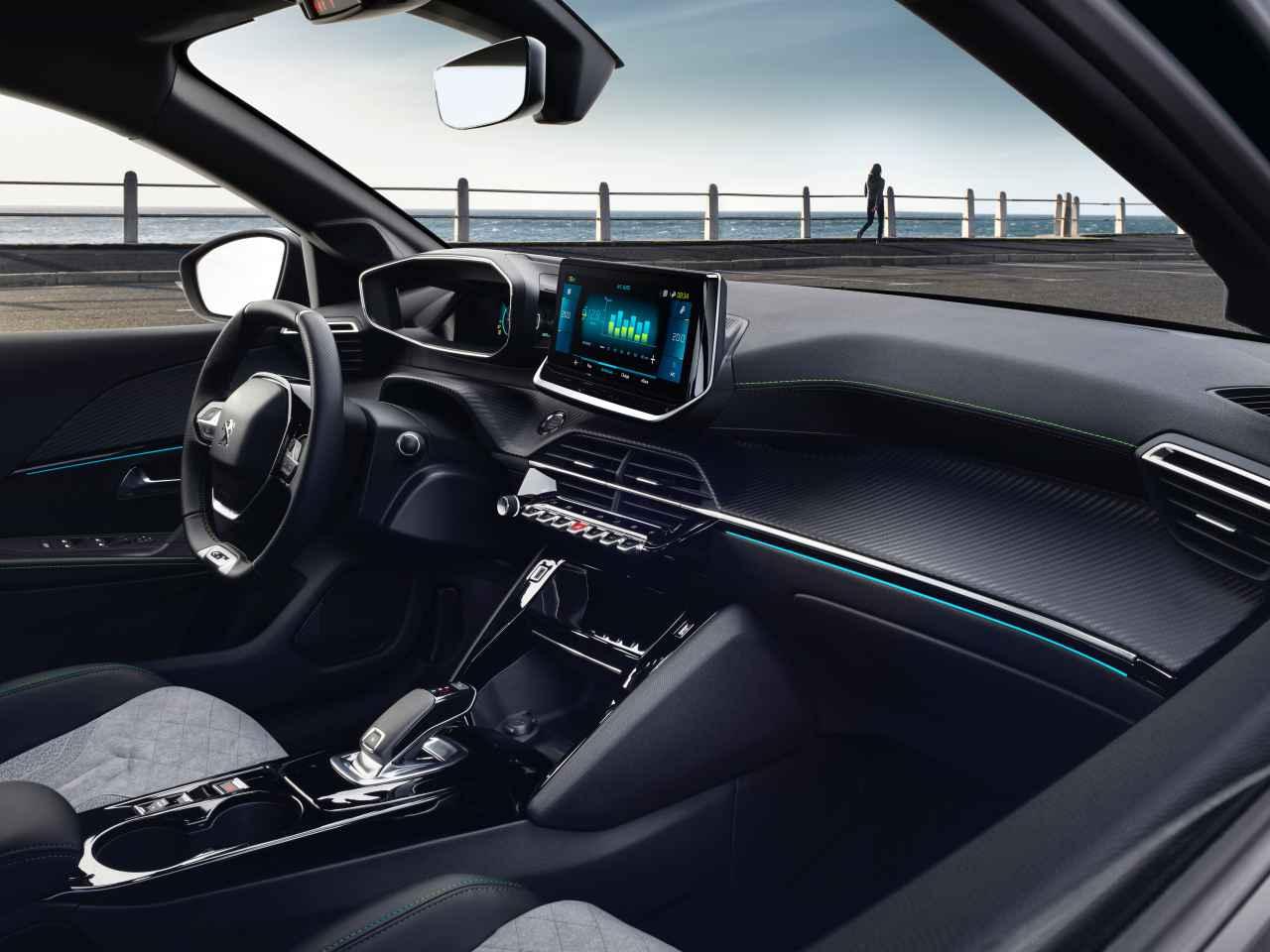 Interior del Peugeot 208 2019