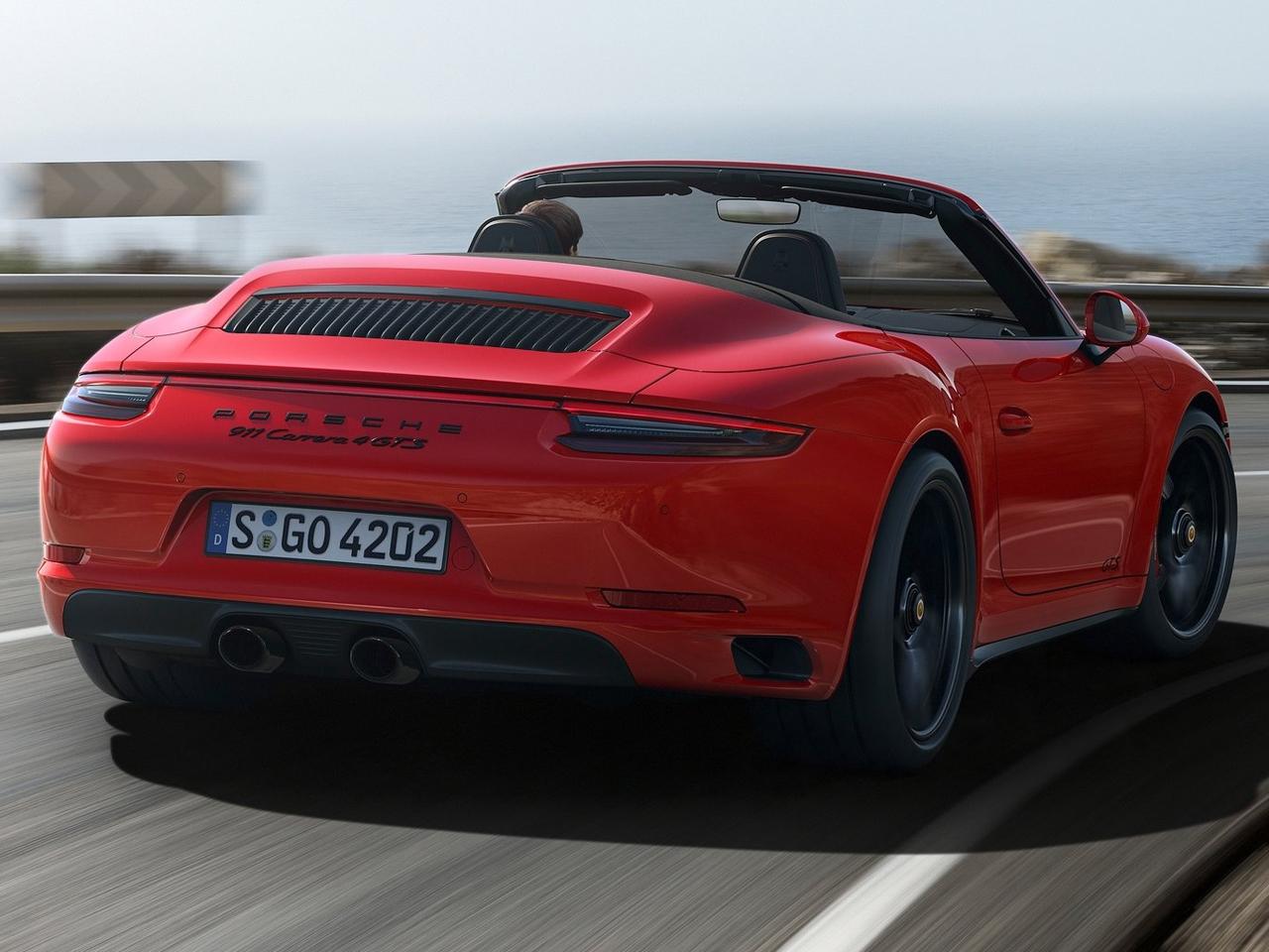 Trasera Porsche 911 Cabriolet