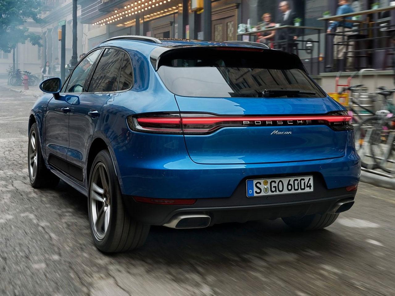 Trasera Porsche Macan