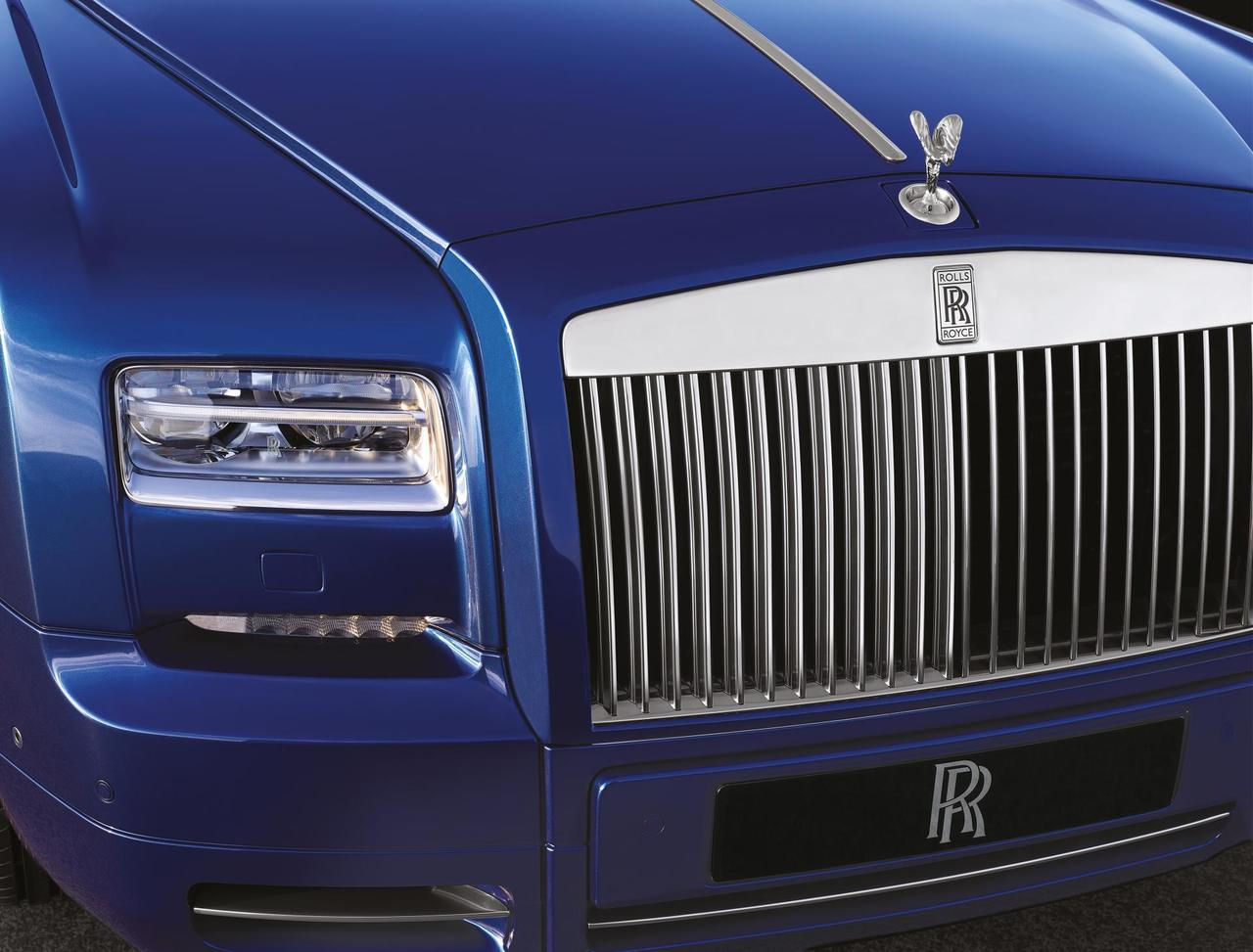 detalle frontal rolls royce phantom