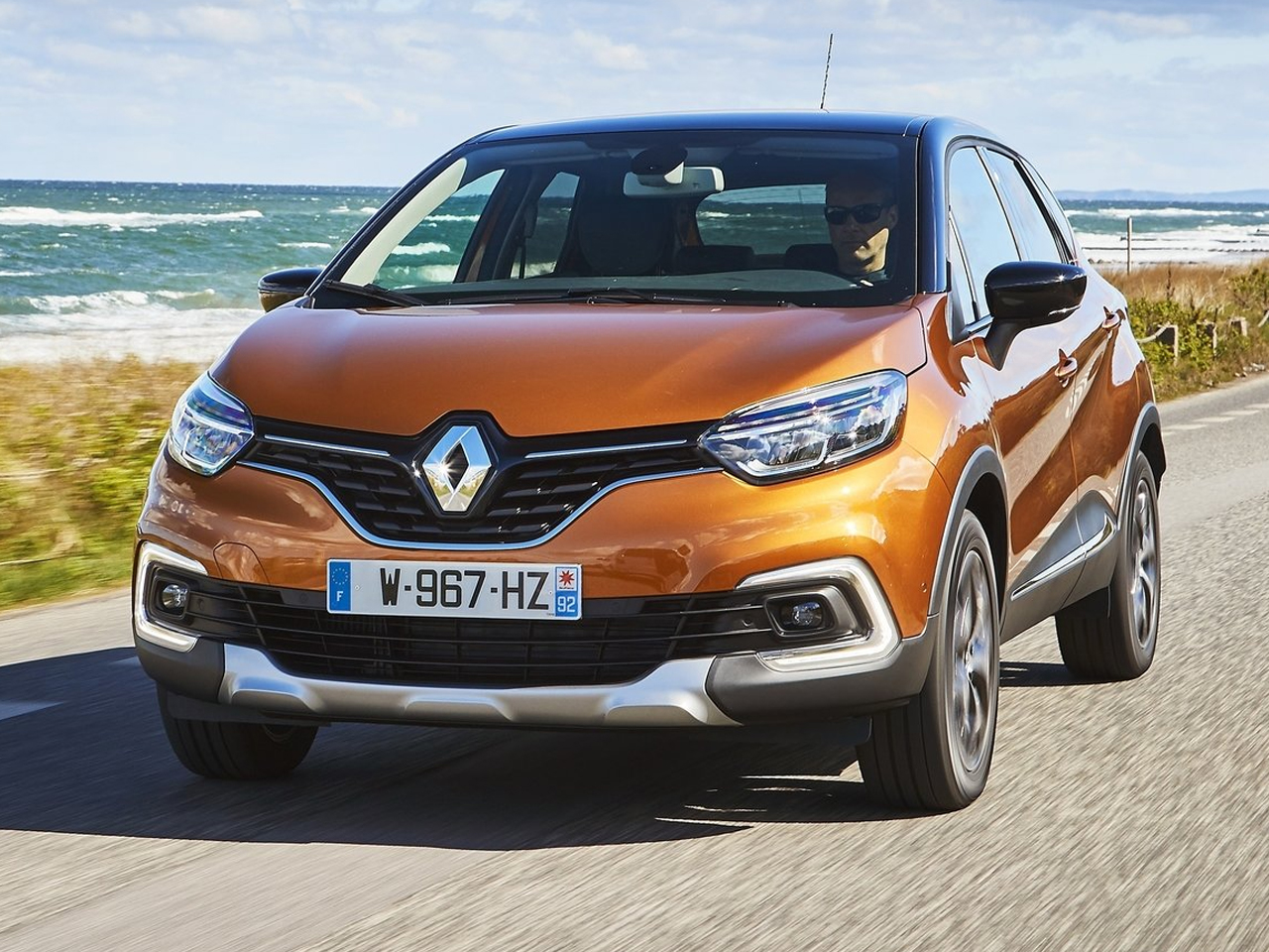 Frontal Renault Captur