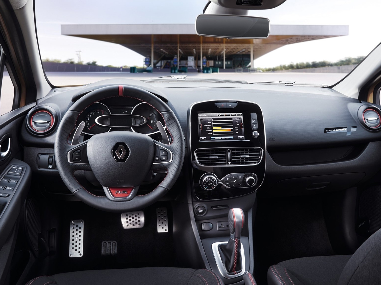 Interior Renault Clio R.S.