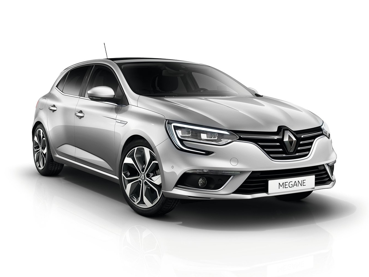 Frontal Renault Megane